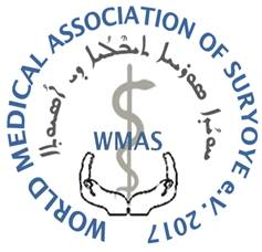World Medical Association of Suryoye Sticky Logo
